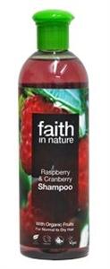 Faith In Nature Málna és Vörösáfonya Sampon