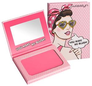 Misslyn Summer Pop Art Powder Blush