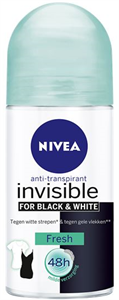 Nivea Invisible for Black & White Fresh Golyós Deo
