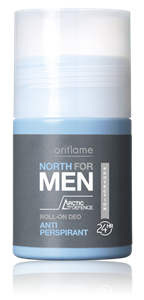 Oriflame North for Men Izzadásgátló Golyós Dezodor