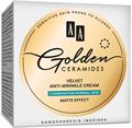 AA Golden Ceramides Bársonyos Ránctalanító Nappali Arckrém Kombinált és Normál Bőrre