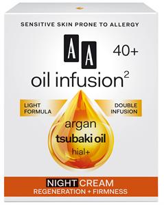 AA Oil Infusion2 40+ Regeneráló, Feszesítő Éjszakai Arckrém