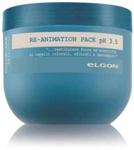 Elgon Professional Colorcare Re-Animációs Pakoló Festett, Száraz, Roncsolt Hajra pH 3.5