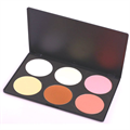 Blank Canvas Cosmetics Contour and Blush Palette