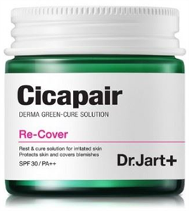 Dr. Jart+ Cicapair Re-Cover Derma Green Cure Solution Recover SPF30 / Pa++