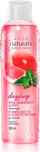 Avon Naturals Rózsaszín Grépfrút és Menta Tusfürdő