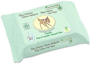 Naturaverde Bio Disney Bambi Gyengéd Nedvesített Törlőkendő