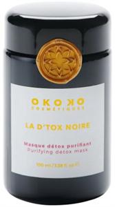 Okoko La D'tox Noire Detox Mélytisztító Agyagmaszk