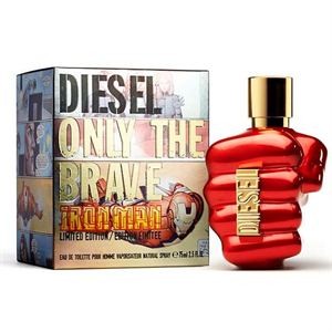 Diesel Only The Brave Iron Man EDT