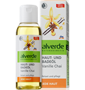 Alverde Haut- und Badeöl Vanille und Chai