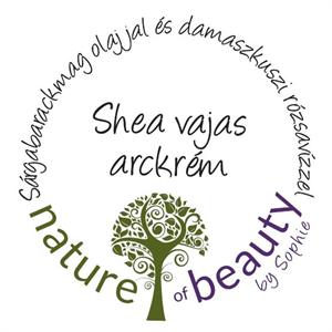 Nature of Beauty by Sophie Shea Vajas Arckrém Sárgabarackmagolajjal és Bio Damszkuszi Rózsavízzel