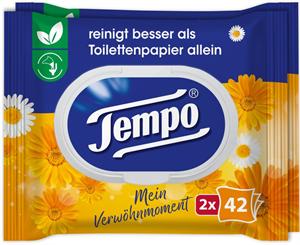 Tempo Nedves Toalettpapír Körömvirág és Kamilla