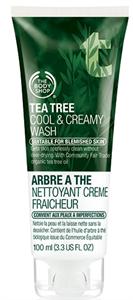 The Body Shop Tea Tree Cool & Creamy Wash