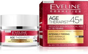 Eveline Age Therapist® 45+ Intenzív Bőrfeszesítő és Ránctalanító Nappali/Éjszakai Arckrém-Szérum