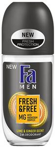 Fa Men Fresh & Free Lime-Ginger Golyós Deo