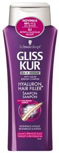 Gliss Kur Hyaluron Filler Hajregeneráló Sampon