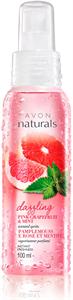 Avon Naturals Rózsaszín Grépfrút és Menta Testpermet