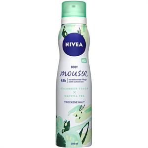 Nivea Cucumber Touch & Matcha Tea Testápoló Hab