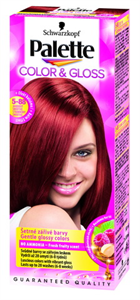 Palette Color&Gloss Tartós Hajszínező