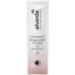 Alverde Clear Beauty Tisztító Arcmaszk Aktív Szénnel