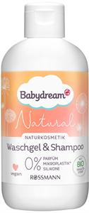 Babydream Natural Mosakodógél & Hajsampon