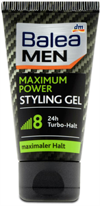 Balea Men Maximum Power Hajformázó Gél