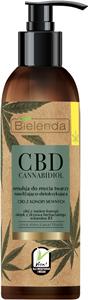 Bielenda CBD Cannabidiol Hidratáló és Detox Hatású Arclemosó Emulzió Zsíros és Kombinált Bőrre