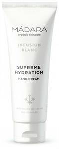 Mádara Infusion Blanc Tökéletesen Hidratáló Kézkrém