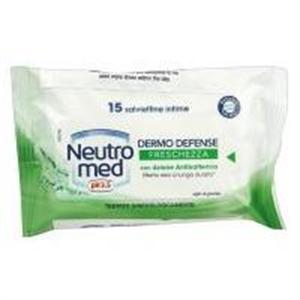 Neutromed pH3.5 Dermo Defense Frissítő Intim Törlőkendő