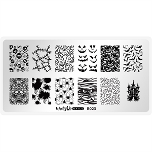 Whats Up Nails Stamping Plate