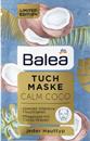 Balea Tuchmaske Calm Coco Fátyolmaszk