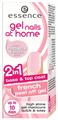 Essence Gel Nails At Home 2in1 Francia Lehúzható Zselés Alap & Fedőlakk
