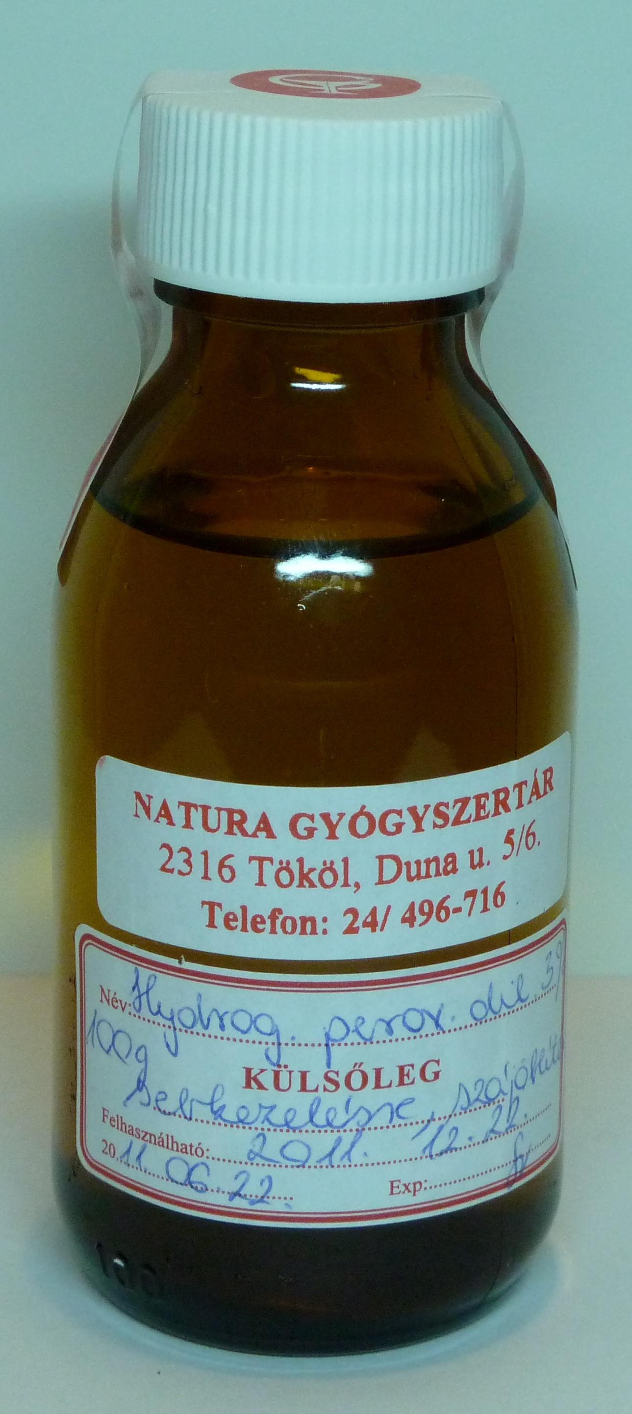 Gyógyszertári Hidrogén-Peroxid