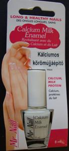 Calcium Milk Enamel Kálciumos Körömújjáépítő