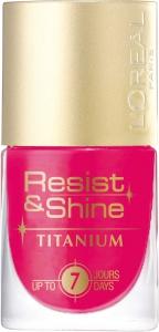 L'Oreal Resist & Shine Titanium Körömlakk