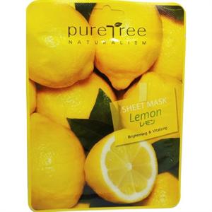 PureTree Naturalism Sheet Mask Lemon