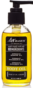 S.W. Basics Unscented Body Oil