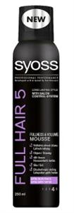 Syoss Full Hair 5 Teltség & Dúsítás Hajrögzítőhab