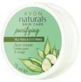 Avon Naturals Teafa és Uborka Arckrém