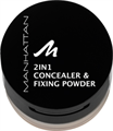Manhattan 2in1 Concealer & Fixing Powder