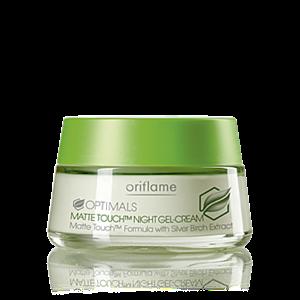 Oriflame Optimals Matte Touch Éjszakai Krémzselé