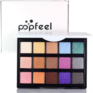 Popfeel 15 Colors Eyeshadow Palette