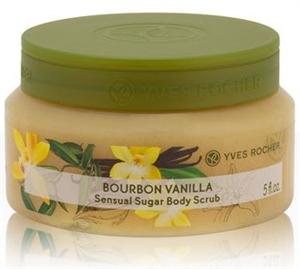 Yves Rocher Bourbon Vaníliás Testradír Cukorszemcsékkel