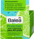 Balea Porenfein Pórusfinomító és Mattító Hidratáló Arckrém AHA-Savval