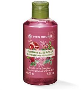 Yves Rocher Plaisirs Nature Gránátalma-Rózsabors Hab- és Tusfürdő