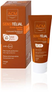 ACM Sensitélial Écran Solaire Tinté SPF50+