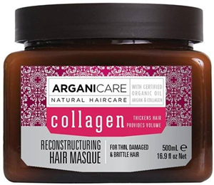 Arganicare Collagen Hajmaszk Fakó Hajra