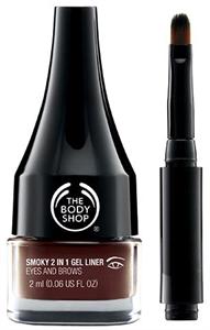 The Body Shop Smoky 2-In-1 Gel Liner & Brow Definer