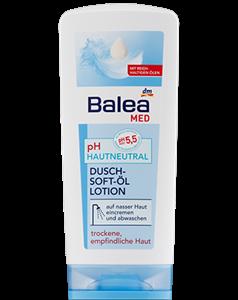 Balea MED pH-Semleges Zuhanyzás Közbeni Olajos Testápoló
