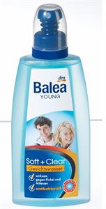 Balea YOUNG  Soft+Clear Arctisztító Tonik